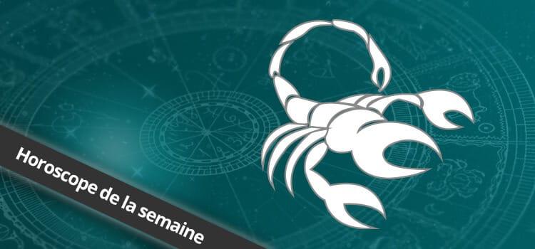Horoscope de la semaine Scorpion, signe astrologique