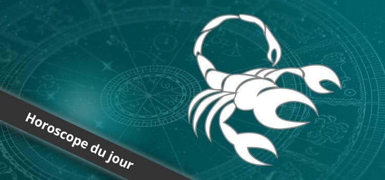 Horoscope du jour Scorpion, signe astrologique