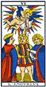 Tarot de marseille - Arcane l'Amoureux
