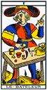 Tarot de marseille - Arcane le Bateleur