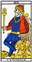 Tarot de marseille - Arcane l'Empereur