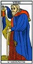 Tarot de marseille - Arcane l'Hermite