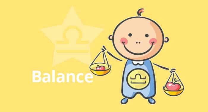 Horoscope de l'enfant Balance - caractère et thème astral