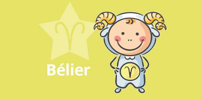 Horoscope de l'enfant Bélier - caractère et thème astral