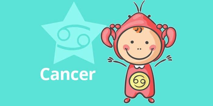 Horoscope de l'enfant Cancer - caractère et thème astral
