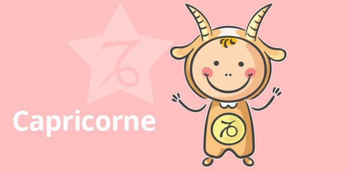Horoscope de l'enfant Capricorne - caractère et thème astral