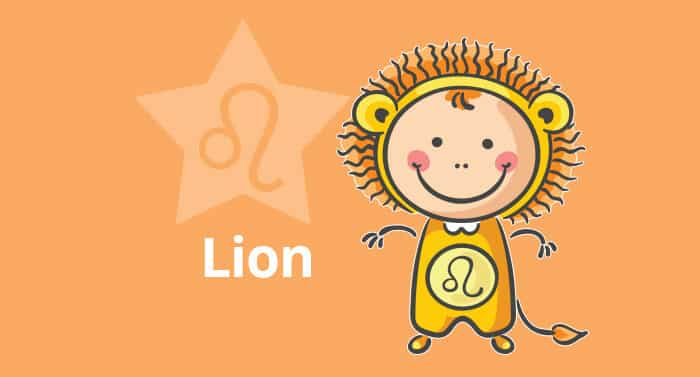 Horoscope de l'enfant Lion - caractère et thème astral