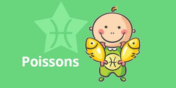 Horoscope de l'enfant Poissons - caractère et thème astral