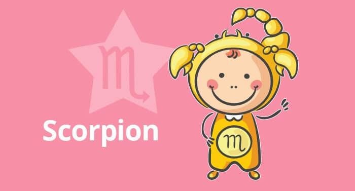 Horoscope de l'enfant Scorpion - caractère et thème astral