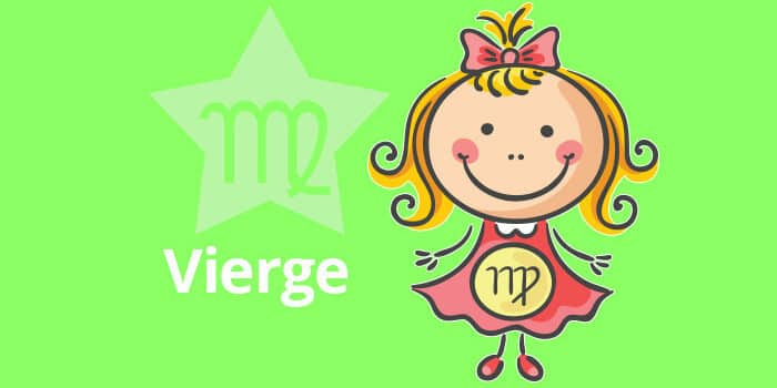Horoscope de l'enfant Vierge - caractère et thème astral