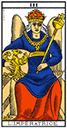Tarot de marseille - Arcane l'Impératrice