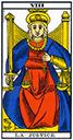 Tarot de marseille - Arcane la Justice