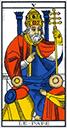 Tarot de marseille - Arcane le Pape