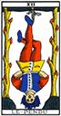 Tarot de marseille - Arcane le Pendu