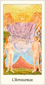 Carte de Tarot L'Amoureux