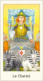 Carte de Tarot Le Chariot