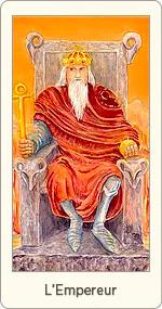 Carte de Tarot L'Empereur