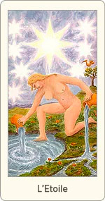 Carte de Tarot L'Etoile