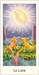 Carte de Tarot La Lune