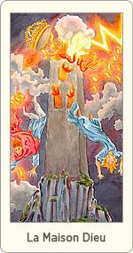 Carte de Tarot La Maison Dieu