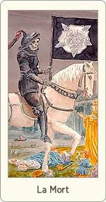 Carte de Tarot La Mort