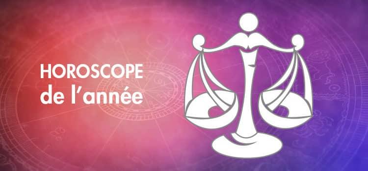 Horoscope de l'année Balance