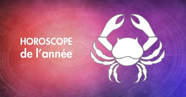 Horoscope de l'année Cancer