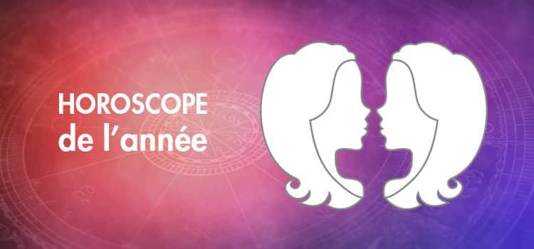 Horoscope de l'année Gémeaux