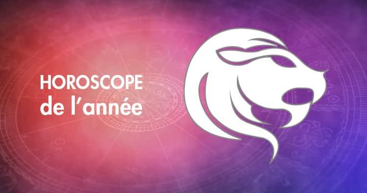 Horoscope de l'année Lion