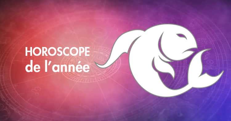 Horoscope de l'année Poisson
