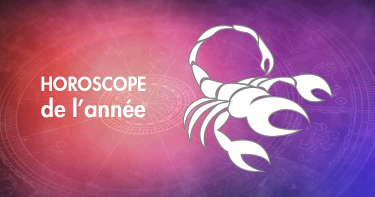 Horoscope de l'année Scorpion