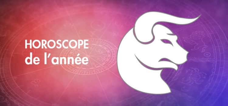 Horoscope de l'année Taureau