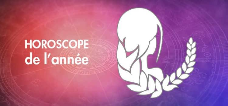 Horoscope de l'année Vierge